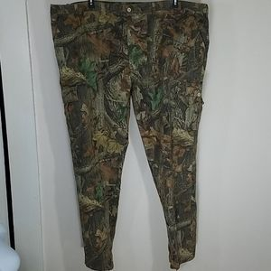 """Pants cargo 6 pocket camouflage Timber Tall X 36"""""""
